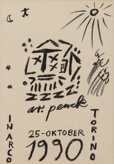 A.R. Penck, 'Senza Titolo', 1990