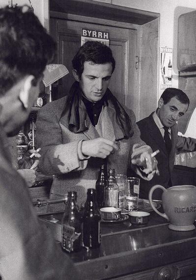 Monique Jacot, 'François Truffaut avec Charles Aznavour', 1960