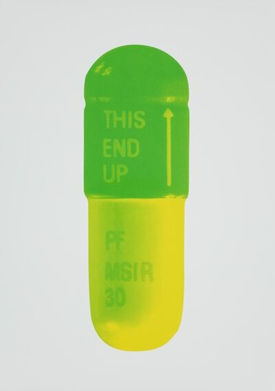 Damien Hirst, 'The Cure - Mint Blue/Apple Green/Lemon Yellow', 2014