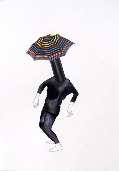 Alice Gibney, 'Umbrella-Head (Wise class clown)', 2015