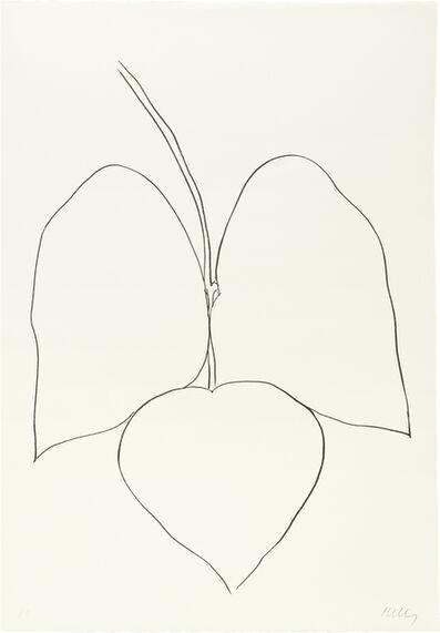 Ellsworth Kelly, 'String Bean Leaves I (Haricot Vert I)', 1965-66