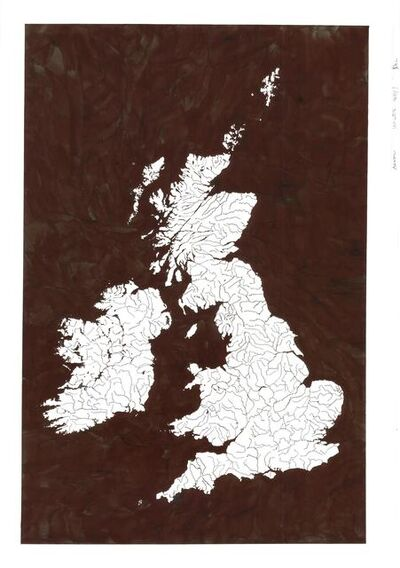 Kim Rugg, 'Black Water British Isles', 2019