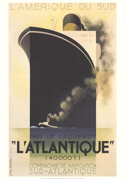 A.M. Cassandre, 'L'Atlantique', 1998