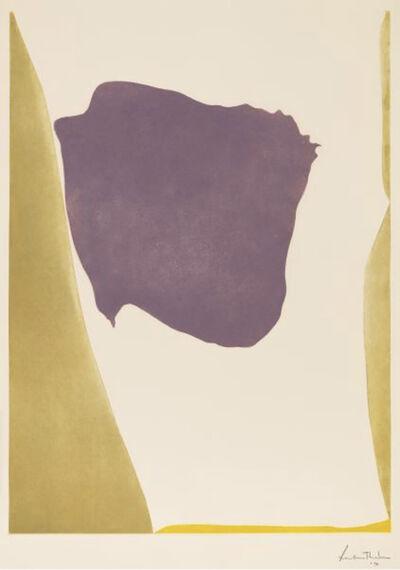 Helen Frankenthaler, 'Lilac Arbor', 1970
