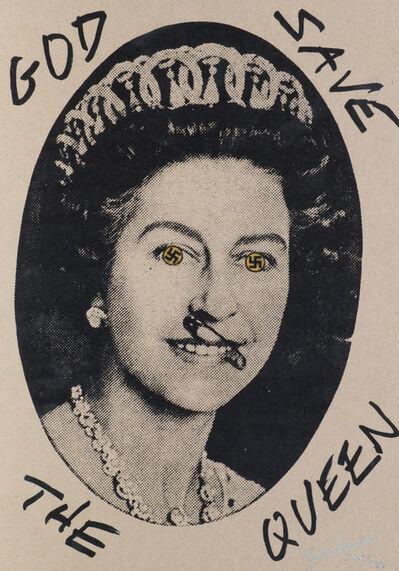 Jamie Reid, 'God Save the Queen (Swastika Eyes)'