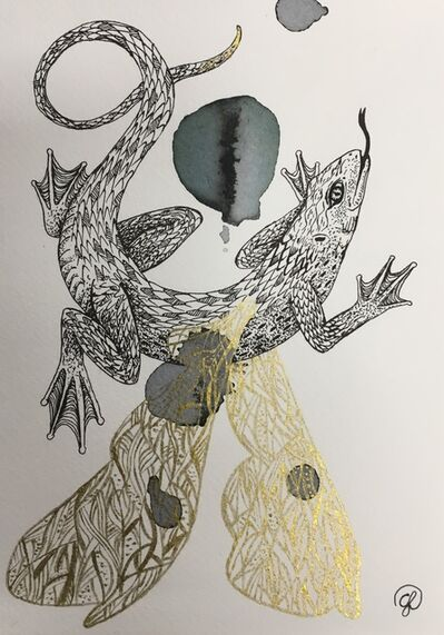 Giulia Ronchetti, 'Winged Lizard ', 2018