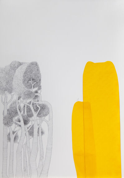 María Ángeles Atauri, 'Yellow Mountain', 2021