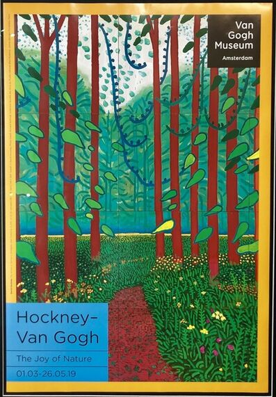 David Hockney, 'Hockney - Van Gogh 'The Joy of Nature' ', 2019
