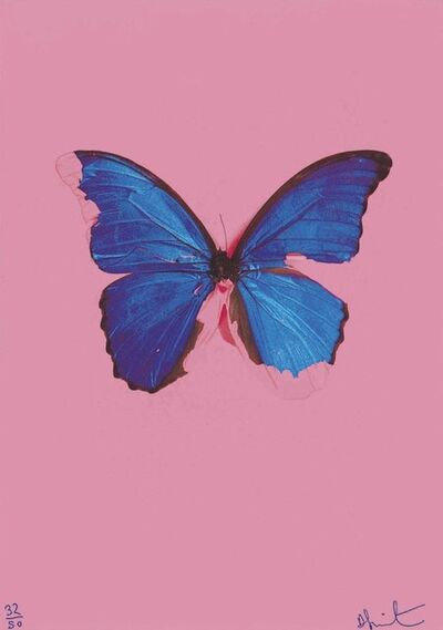 Damien Hirst, 'Blue Butterfly', 2019