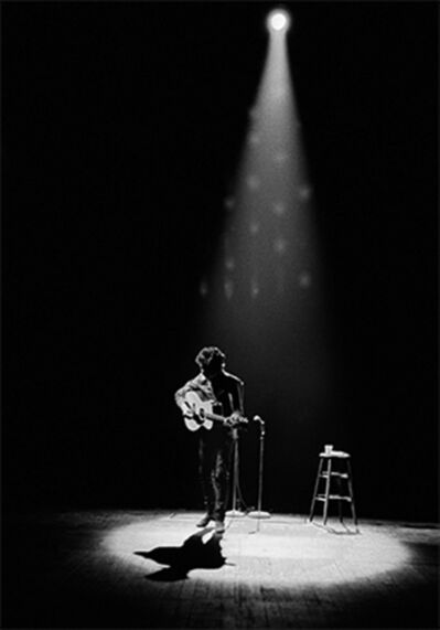 Daniel Kramer, 'Bob Dylan Performing in Spotlight, Princeton, New Jersey', 1964