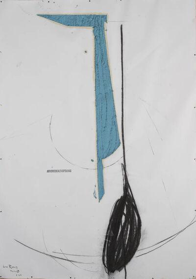 Nuno Ramos, '(arvoredealtasfolhas) - série Proteu, 07', 2015