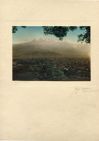 Hugo Brehme, 'Ixtaccihuatl'