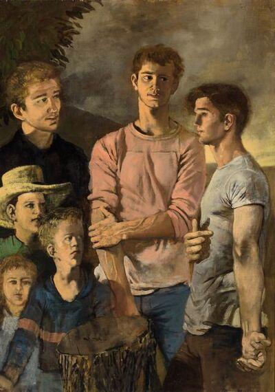 Walter Stuempfig, Jr., 'Group Portrait'
