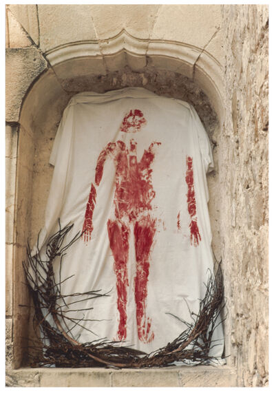 Ana Mendieta, 'Untitled (from the Silueta series)', 1973-1977