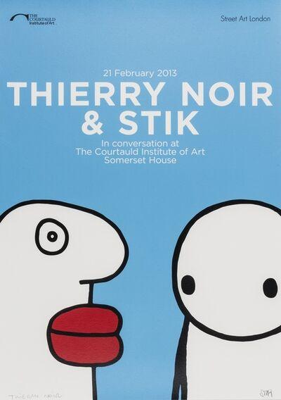 Thierry Noir, 'In Conversation', 2013