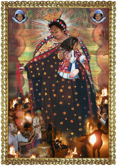 Ana de Orbegoso, 'Urban Virgins:  Virgen del Carmen', 2006-2020