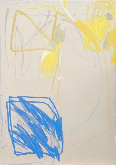 Gabriele Herzog, 'Blaues Quadrat/Blue Square', 2020