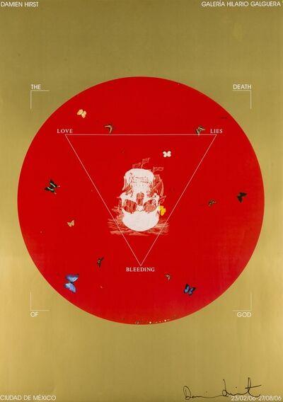 Damien Hirst, 'Death of God, Galeria Hilario Galguera', 2006