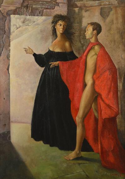 Leonor Fini, 'Dans la tour', 1952