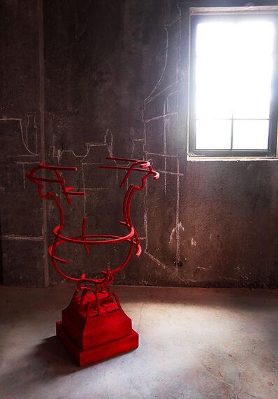 Juan Garaizabal, 'Vase Tuileries VI, Velvet', 2014