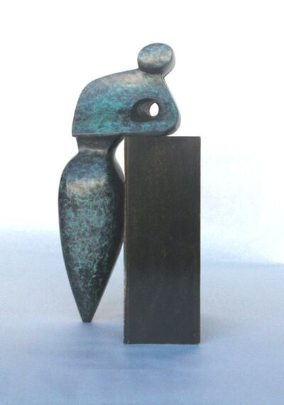 Robert Holmes, 'Mr. G, Small - Green Patina', Contemporary
