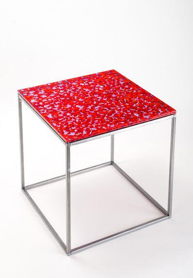 Orfeo Quagliata, 'Modjuloco (red-neo)', 2013