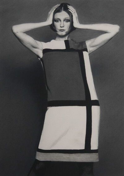 Rob Davis, 'YSL Mondrian Dress', 2019