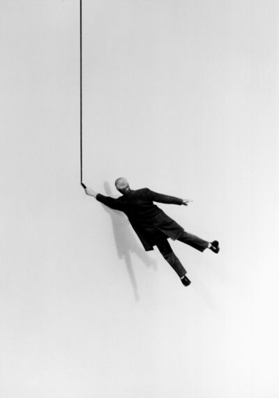 Gilbert Garcin, '345 – La vie d'artiste – The life of an artist', 2007