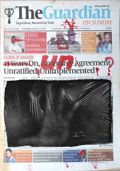 Ken Nwadiogbu, 'Headline Series (no. 1)', 2019