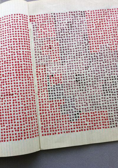 Goran Trbuljak, 'Exercice d'un artiste (Dots)', 1975