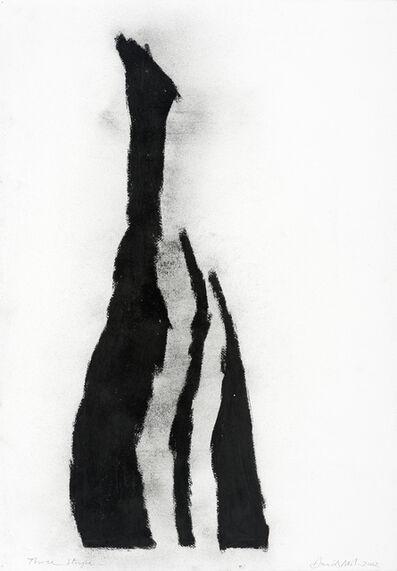 David Nash, 'Three Stripes', 2002