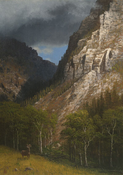 Albert Bierstadt, 'Pass into the Rockies', Date Unknown