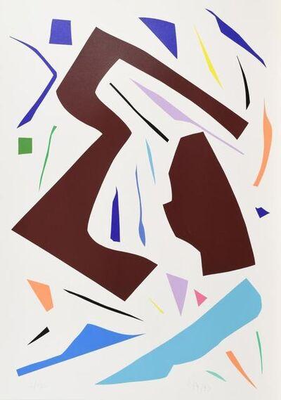 Imi Knoebel, 'Messerschnitte', 1990-2000
