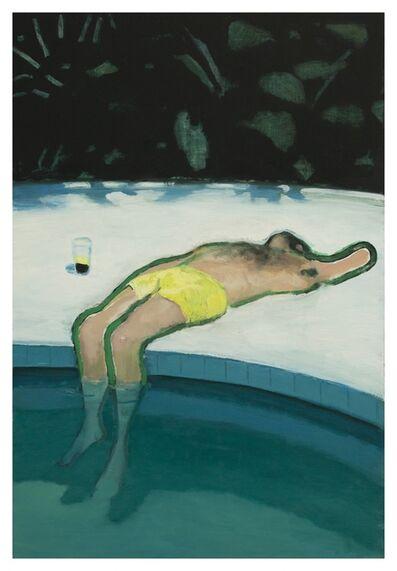 Jonathan Wateridge, '(His) Long Day in the Sun', 2020