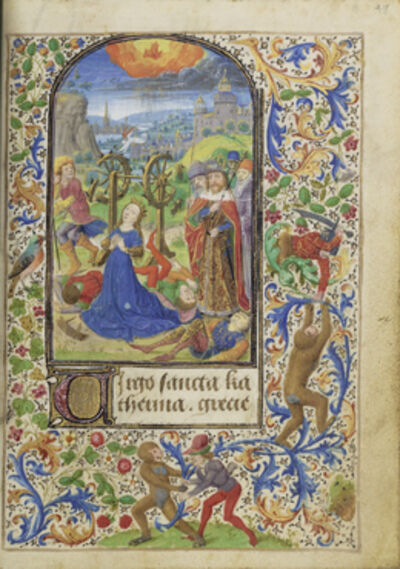 Lievan van Lathem, 'The Martyrdom of Saint Catherine', 1469