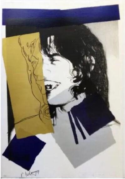 Andy Warhol, 'Mick Jagger F.S. II 142', 1975