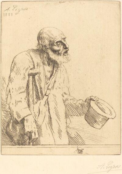 Alphonse Legros, 'Beggar (Le mendiant)', 1881