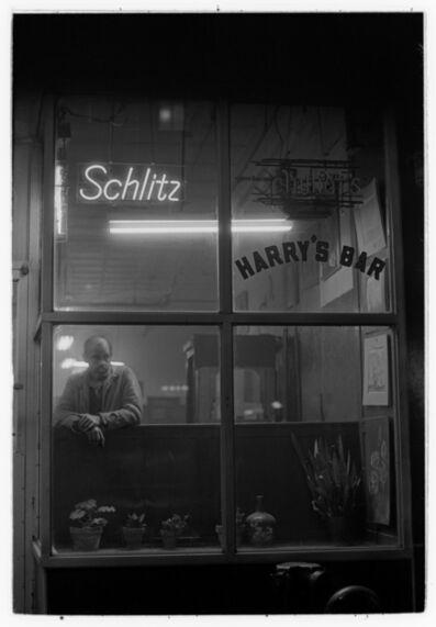 Masao Gozu, 'Harry's Bar #3, 8pm, September', 1976