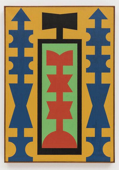 Rubem Valentim, 'Emblema Logotipo Poético', 1974