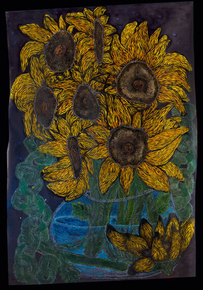 Lady Skollie, 'The cut sunflower: an ode to the life and murder of Matlhomola Jonas Mosweu (April 2017)', 2020