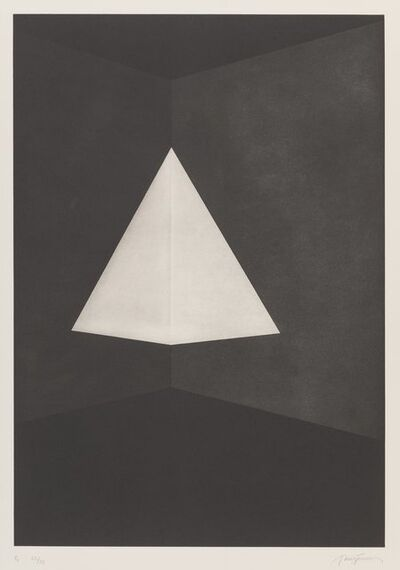 James Turrell, 'B1, from First Light Series', 1989