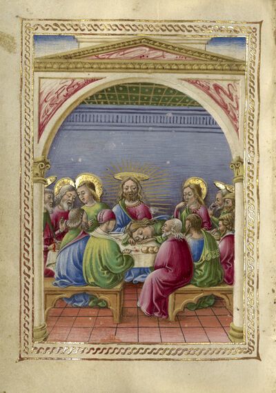 Taddeo Crivelli, 'The Last Supper', 1469