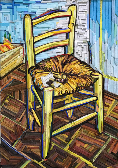 Kyu-Hak Lee, 'Monument-Gogh's Chair #5', 2018