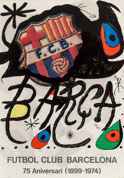 Joan Miró, 'Futbol Club Barcelona', 1974