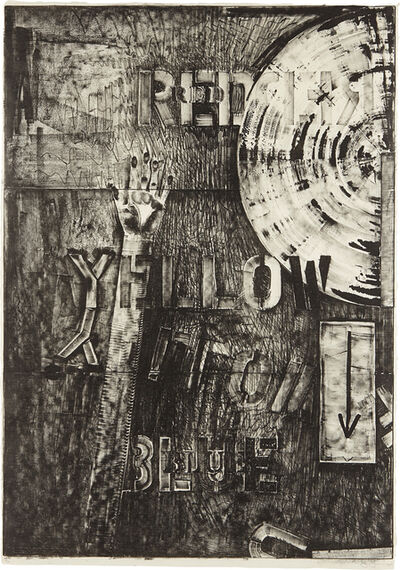 Jasper Johns, 'Land's End', 1979