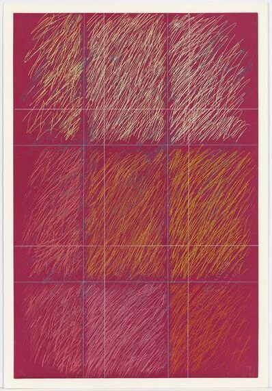 Kenneth Noland, 'Roy', 1990