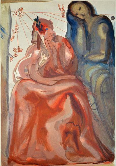 Salvador Dalí, 'Dante's Confession, Purgatorio 31,The Divine Comedy', 1960