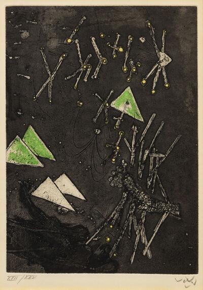 Roberto Matta, 'Droites Libérées (Plate 11)', 1971