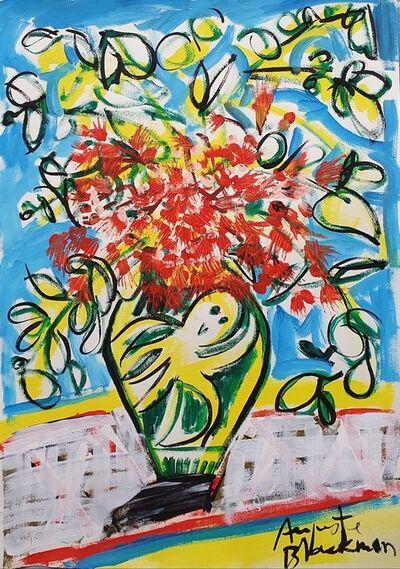 Auguste Blackman, 'Vase with Flora', 2021