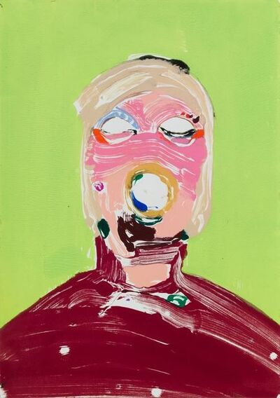Nicola Tyson, 'Portrait Head #65', 2004